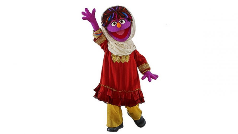 Why is Sesame Street's New Afghan Muppet wearing a headscarf?