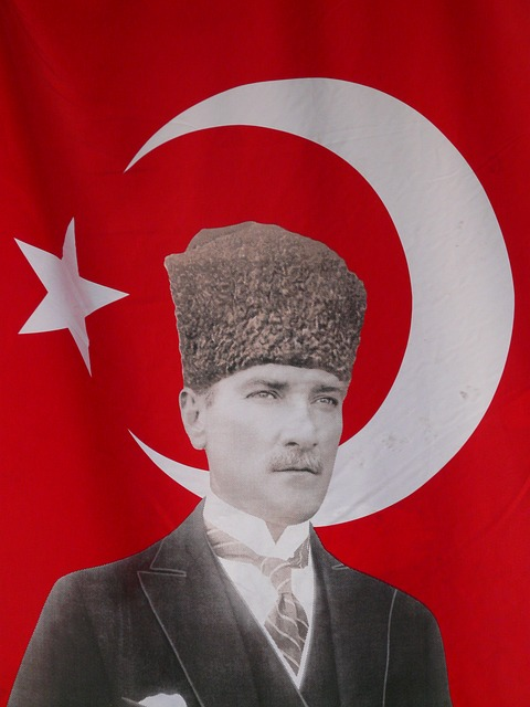Mustafa Kemal Atatürk, the first President of Turkey.